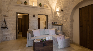 Trullo Mandorlo - living area