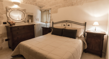 Trullo Mandorlo - Double bedroom